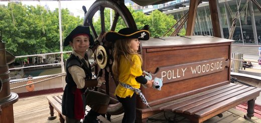 Polly Woodside Tall Ship Melbourne