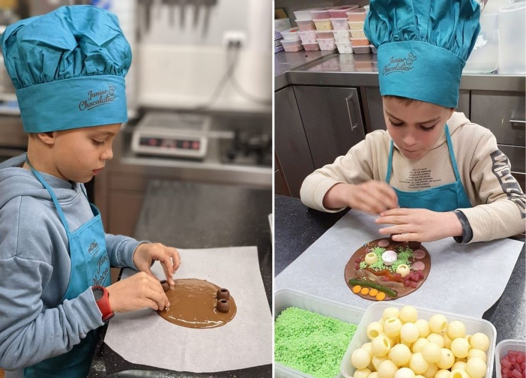 Junior chocolaterie class