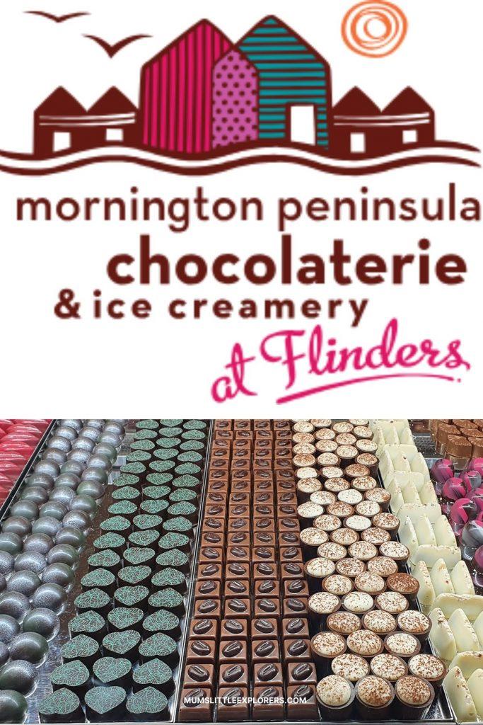 Mornington Peninsula chocolaterie at Flinders