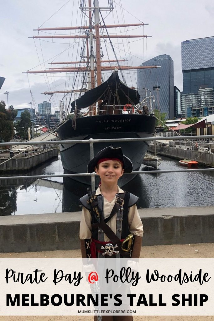 Pirate Day Polly Woodside Melbourne