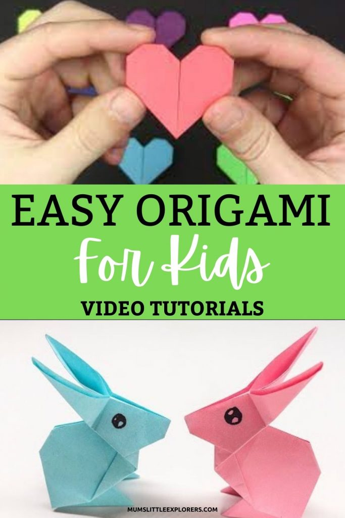 Easy Origami For Kids Videos