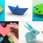 Easy Origami For Kids – Step By Step Instructions Video