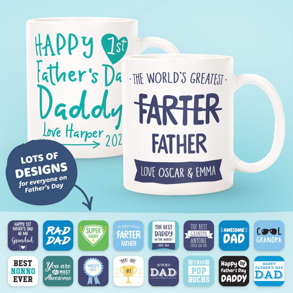 Fathers Day Gifts Personalised Mug