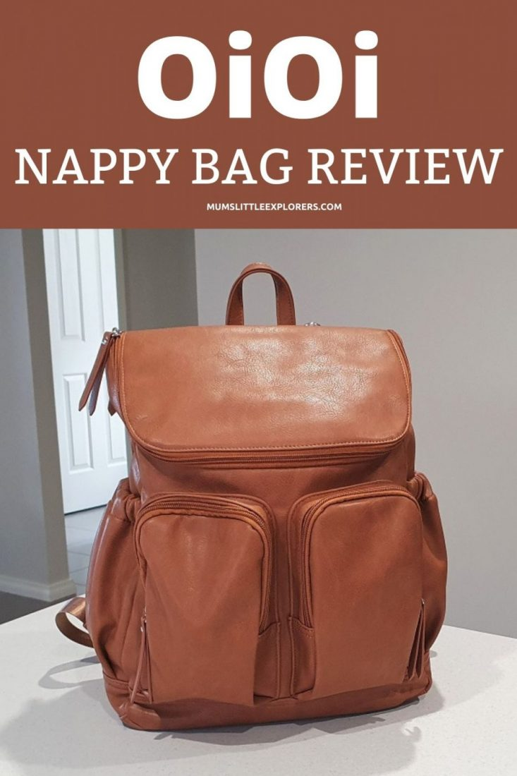OiOi Nappy Bag Review Pin2