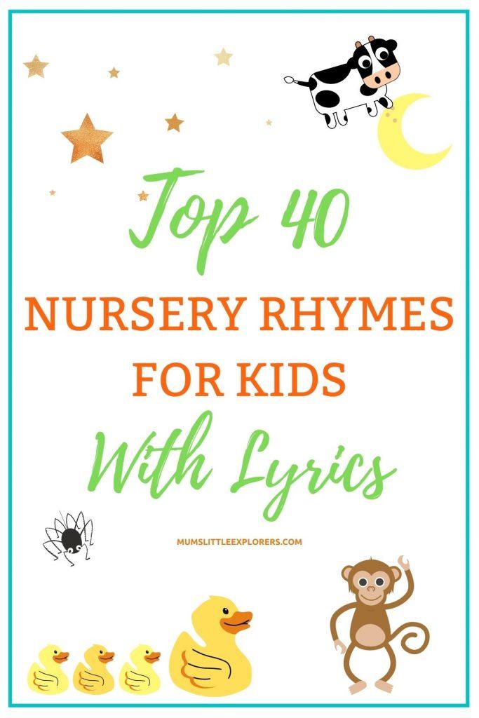 Best Nursery Rhymes for Kids with Lyrics
