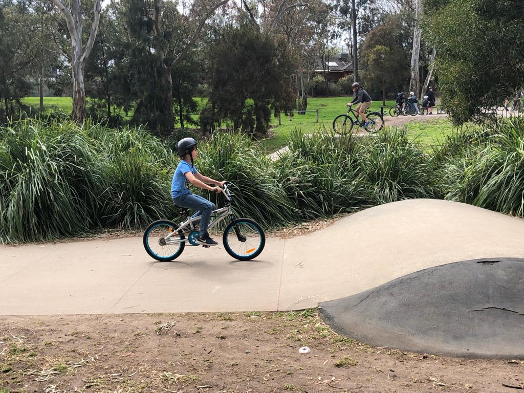 BMX track Hill n Dale Melbourne