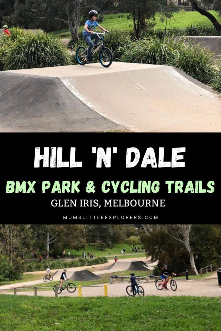 Hill n Dale BMX track Melbourne Glen Iris