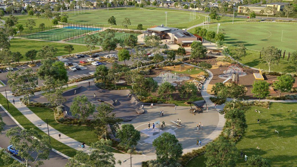 Merrifield Recreation Reserve Mickleham coming soon