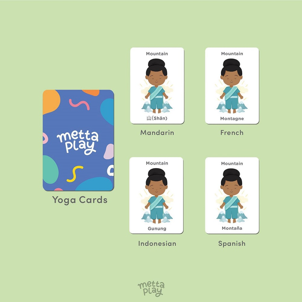 Metta Play Yoga Cards Languages