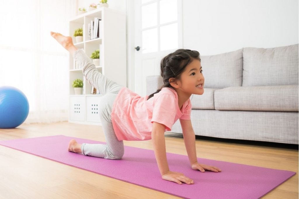 Yoga Cards for Kids Pose 2