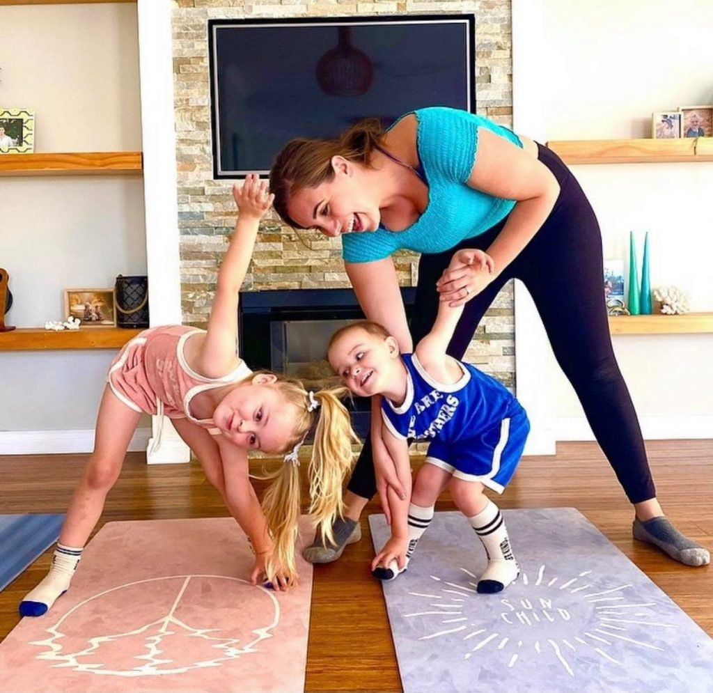 Yoga connects families